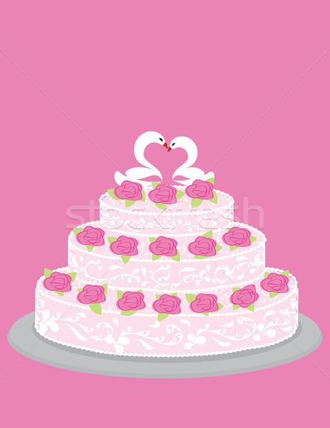Wedding cake Stock photo © Irinavk