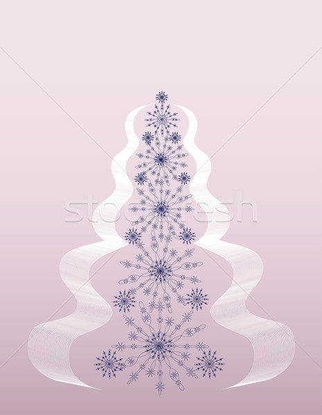 fir-tree pink Stock photo © Irinavk