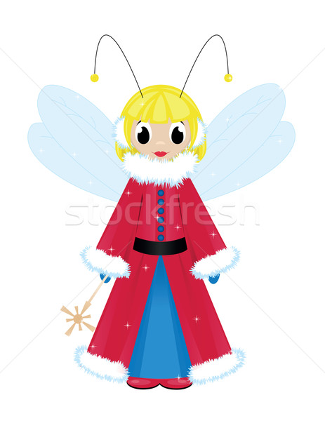 christmas fairy Stock photo © Irinavk