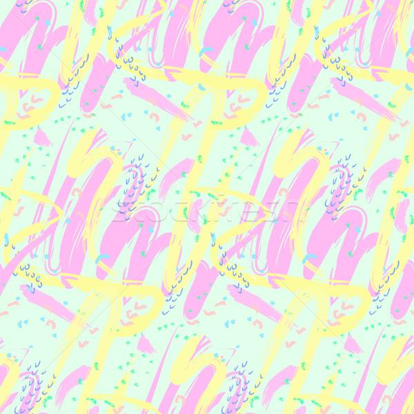 Senza soluzione di continuità abstract pattern forme soft Foto d'archivio © Irinka_Spirid
