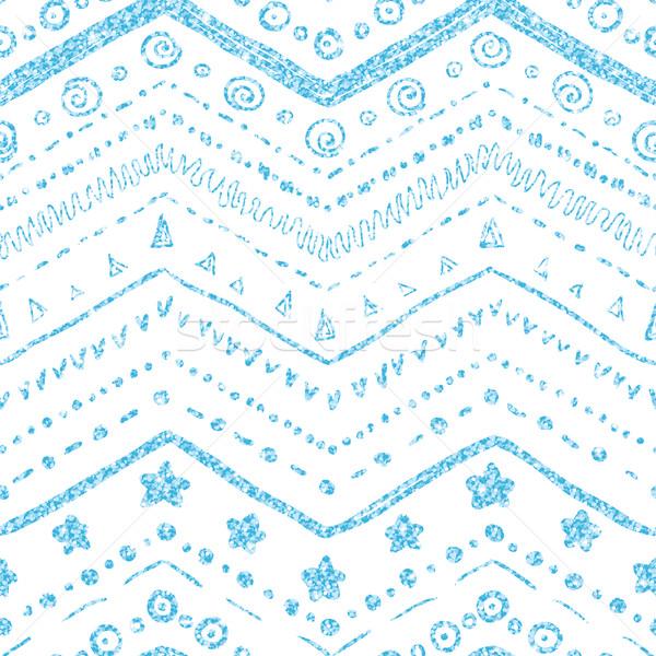Vector elementos blanco textura azul Foto stock © Irinka_Spirid