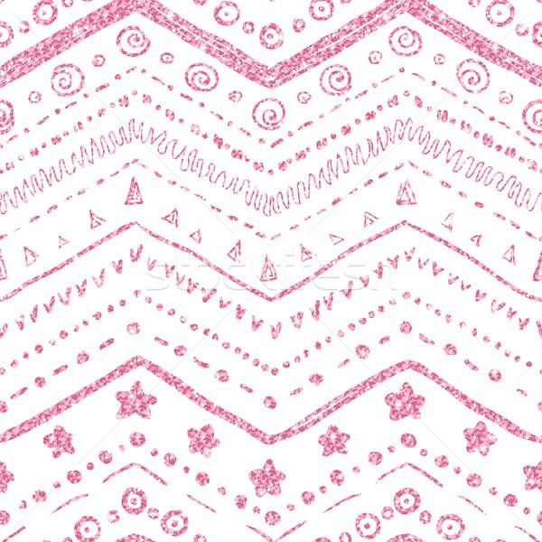 Vector elementos blanco rosa Foto stock © Irinka_Spirid