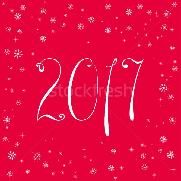 Feliz año nuevo celebración banner diferente elementos hermosa Foto stock © Irinka_Spirid