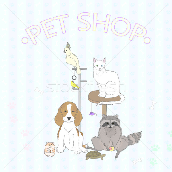 Pet Shop Stock photo © Irinka_Spirid