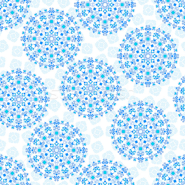 Senza soluzione di continuità disegno geometrico pattern tradizionale elementi Foto d'archivio © Irinka_Spirid