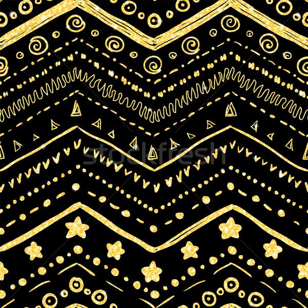 Vettore elementi nero texture Foto d'archivio © Irinka_Spirid