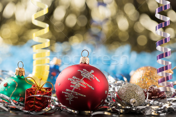 Christmas and new year's holidays decorations Stock photo © ironstealth