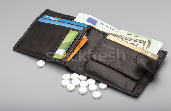 Cost of medicine Stock photo © ironstealth