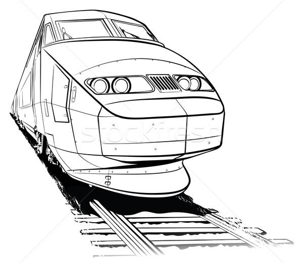 train Stock photo © isaxar