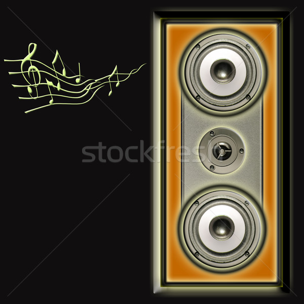acoustic speakers system Stock photo © Iscatel