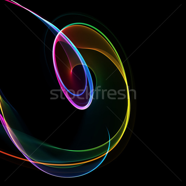abstract colorful circles Stock photo © Iscatel