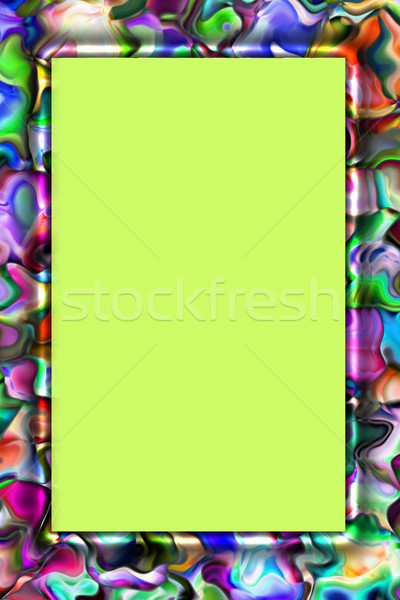 abstract colorful frame Stock photo © Iscatel
