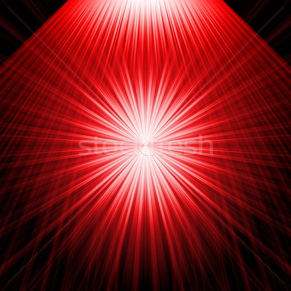 abstract radiant star Stock photo © Iscatel
