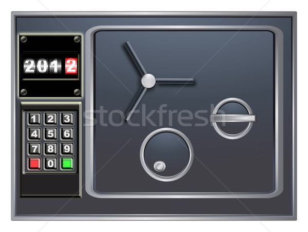 New Year's safe Stock photo © Iscatel