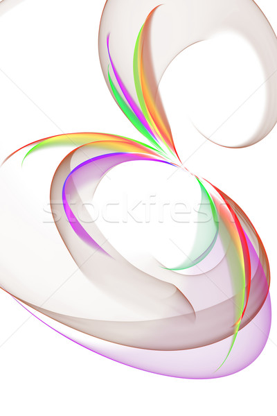 abstract flower; Stock photo © Iscatel