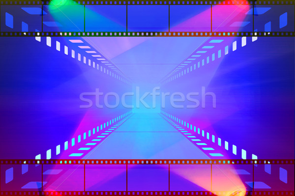 cinema movie projector and film Stock photo © Iscatel
