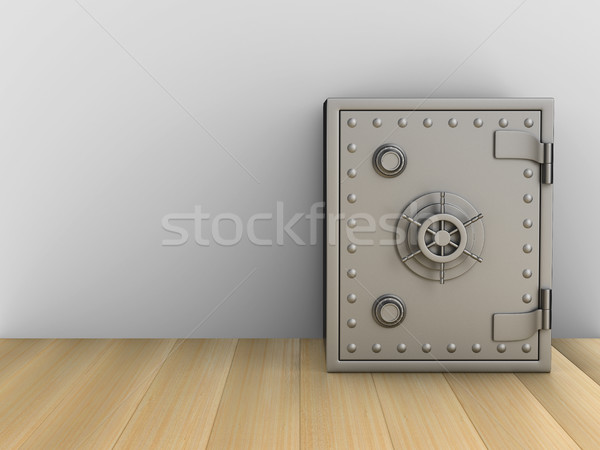 Safe in room. 3D image Stock photo © ISerg