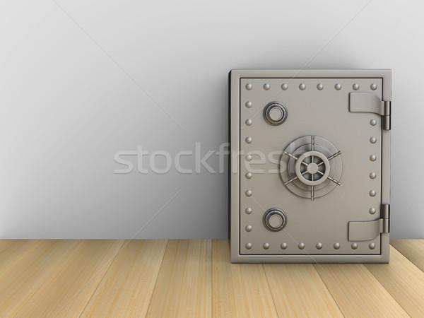 安全 ルーム 3D 画像 ビジネス 壁 ストックフォト © ISerg