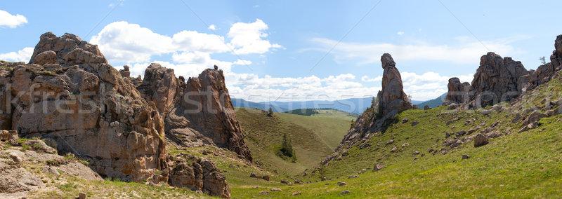 Barguzin valley. Summer landscape. Russia Stock photo © ISerg