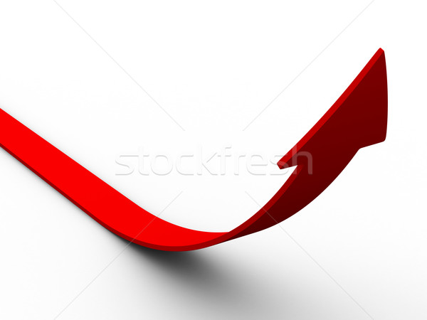 Movement direction to success. Isolated 3D image Stock photo © ISerg