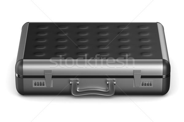 Case on white background. isolated  3D image Stock photo © ISerg