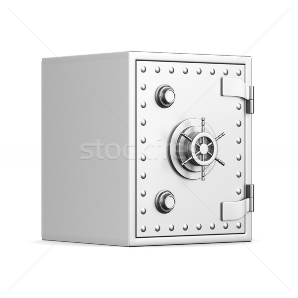 Safe on white background. Isolated 3D image Stock photo © ISerg