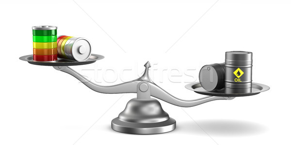 Choice power source. Isolated 3D illustration Stock photo © ISerg