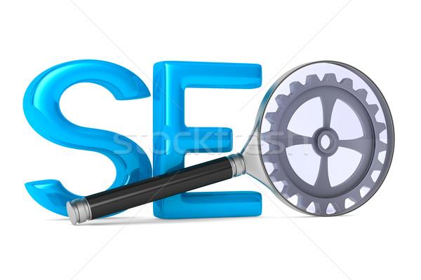 Search Engines Optimization. Isolated 3D image Stock photo © ISerg