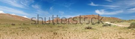 Stock photo: Altai mountains. Beautiful highland landscape. Mongolia