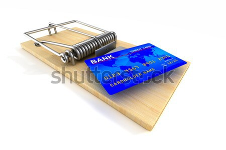 Financial risk. Isolated 3D image Stock photo © ISerg