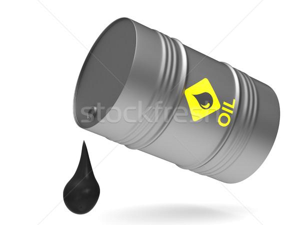 vat on white background. Isolated 3D image Stock photo © ISerg