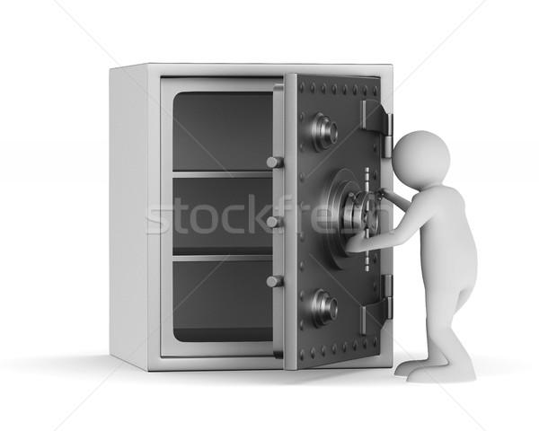 Safe on white background. Isolated 3D image Stock photo © ISerg