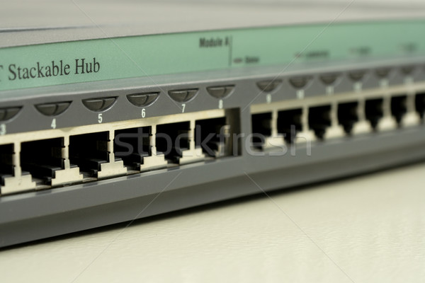 Active network equipment. Router Stock photo © ISerg