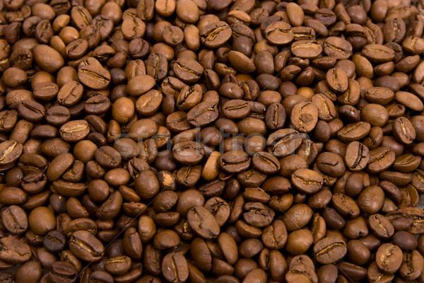 Perfumado café preto café fundo Foto stock © ISerg