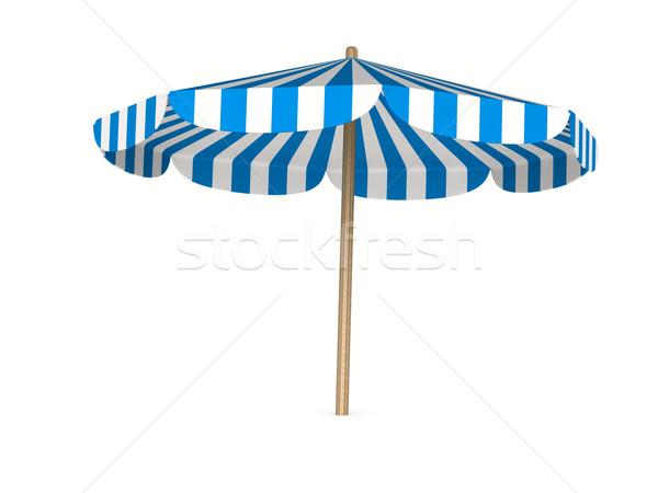parasol on white background. Isolated 3D image Stock photo © ISerg
