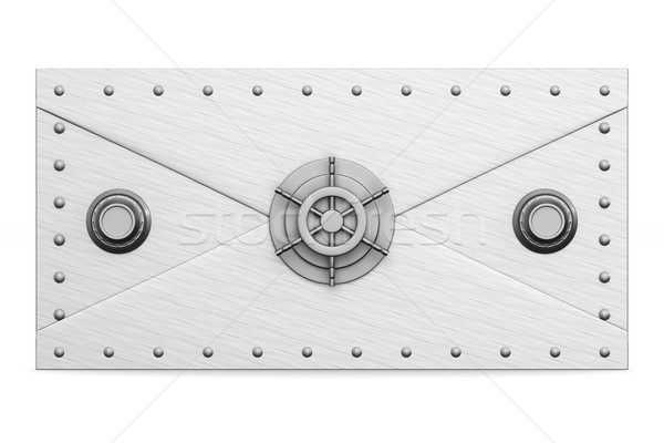 白 孤立した 3次元の図 技術 メール ストックフォト © ISerg