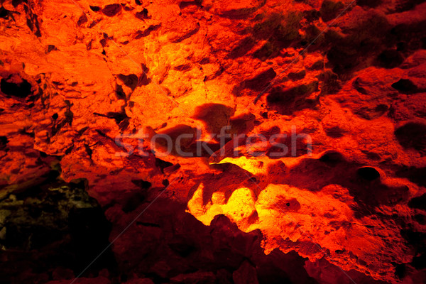grotto in Kungur ice cave Stock photo © ISerg