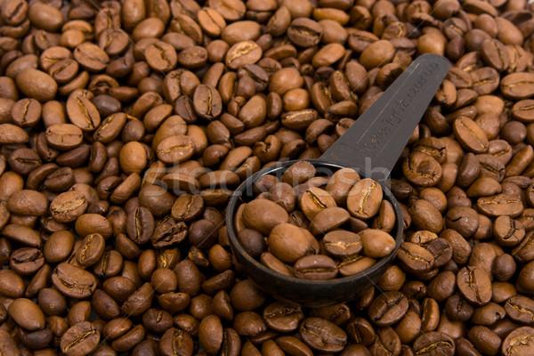 穀類 香ばしい ブラックコーヒー コーヒー 背景 ストックフォト © ISerg