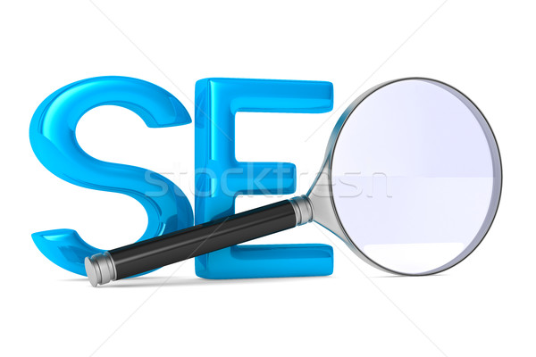 Search Engines Optimization. Isolated 3D image Stock photo © ISerg
