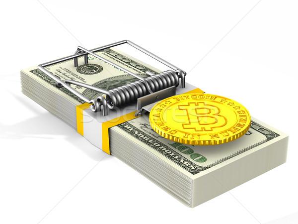 Financial risk. Isolated 3D illustration Stock photo © ISerg