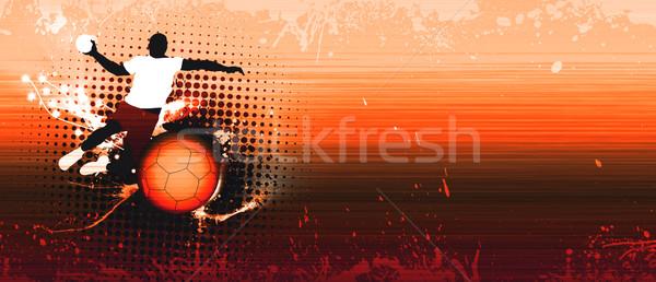 Handball shot  Stock photo © IstONE_hun
