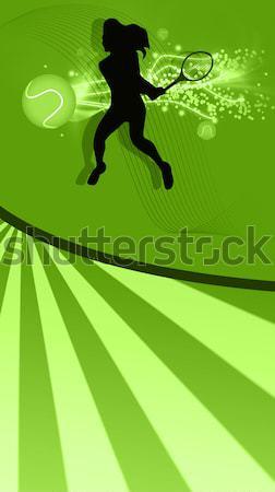 Atlama at adam spor doğa atlamak Stok fotoğraf © IstONE_hun