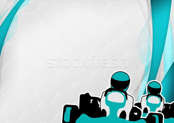 Gokart background Stock photo © IstONE_hun