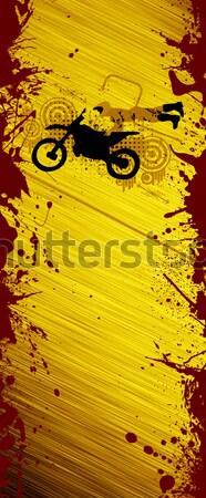 Paintball resumen grunge color hombre verano Foto stock © IstONE_hun