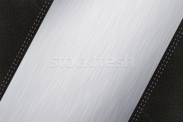 Steel and Leather Stock photo © IstONE_hun