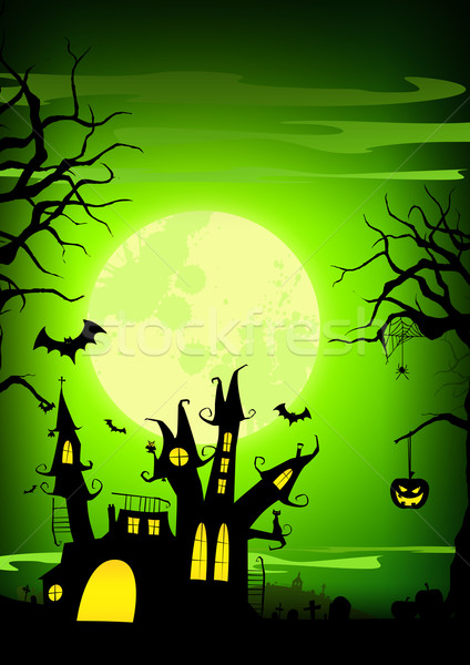 Halloween background Stock photo © IstONE_hun