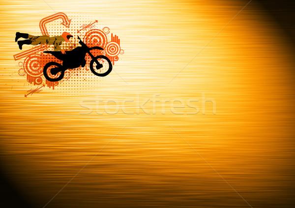 Motocross jumping Stock photo © IstONE_hun