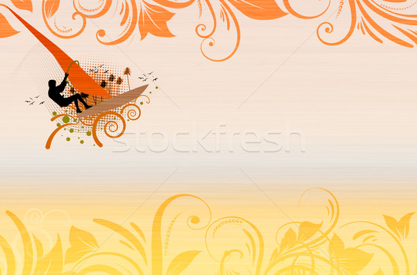 Windsurf Stock photo © IstONE_hun