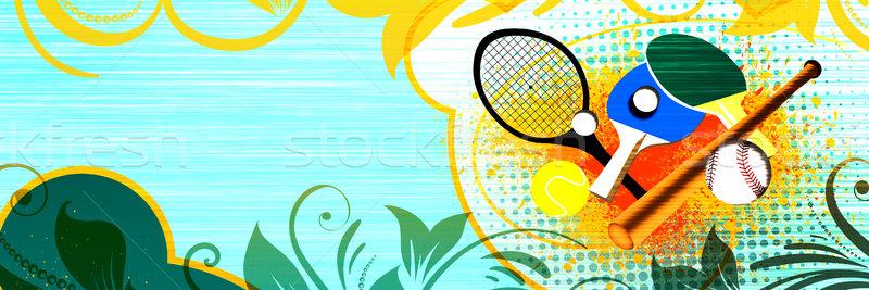 Sports object Stock photo © IstONE_hun