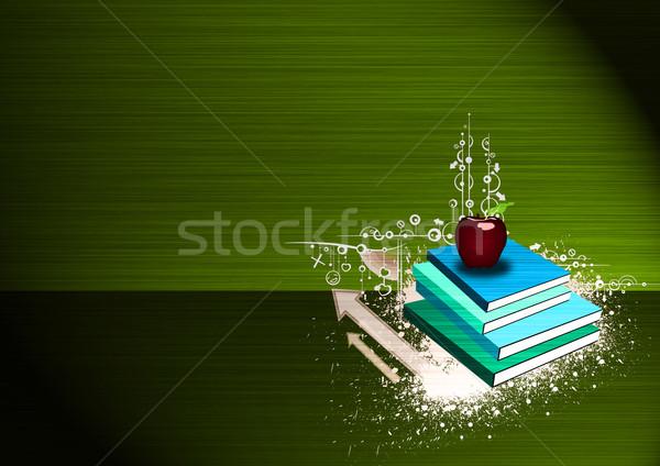 apple and book  Stock photo © IstONE_hun